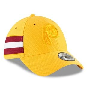 NWTags Redskins New Era Gold Sideline Cap M/L NEW